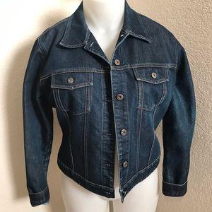 Ladies Gap denim jacket sz XL